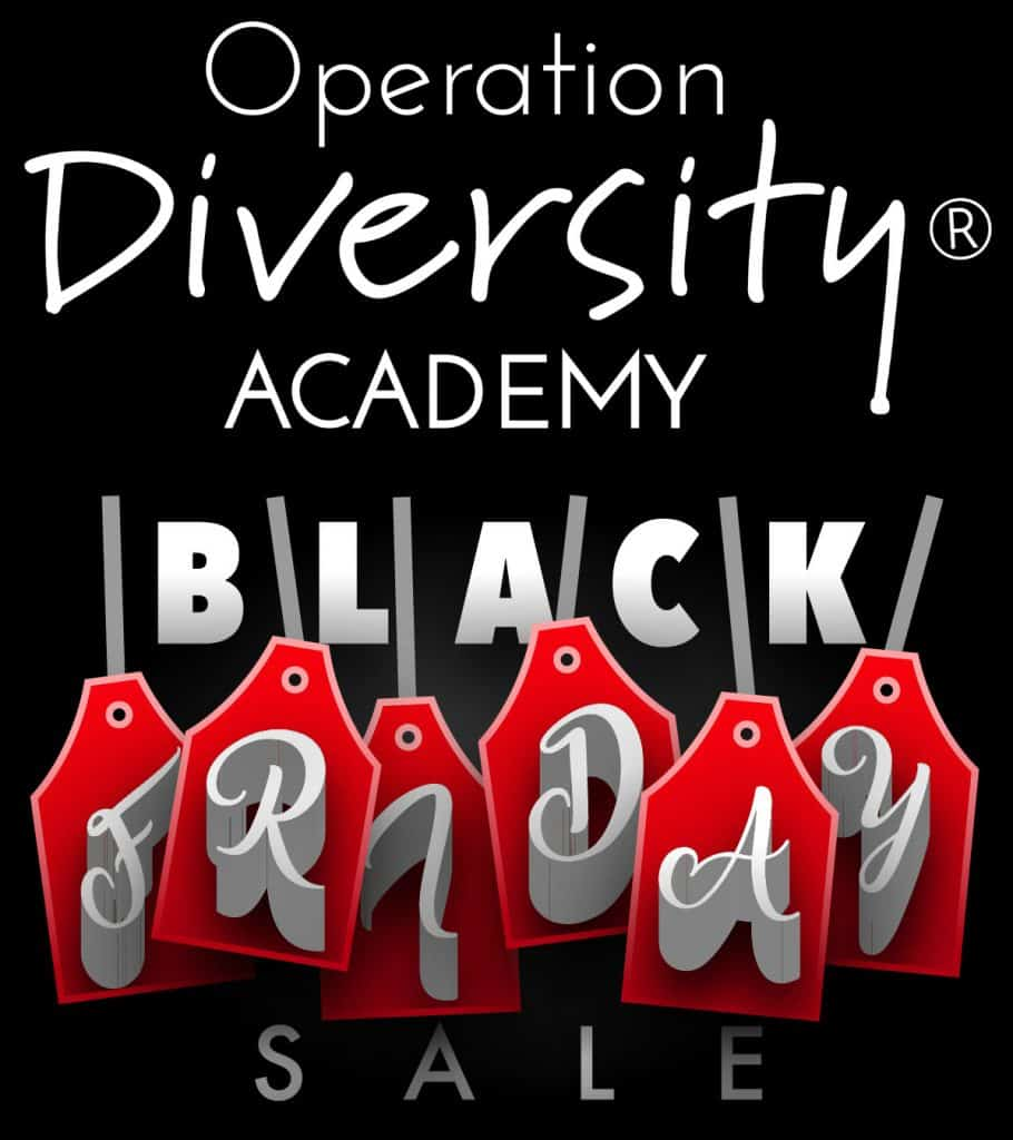 Operation Diversity - Black Friday Deal - v3