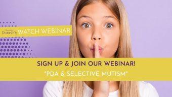 PDA and Selective Mutism